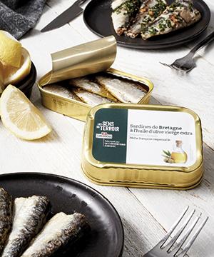 Conserves de viande et foie gras