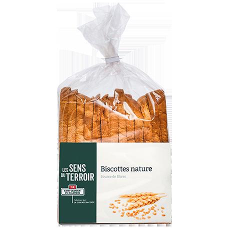 Biscottes nature