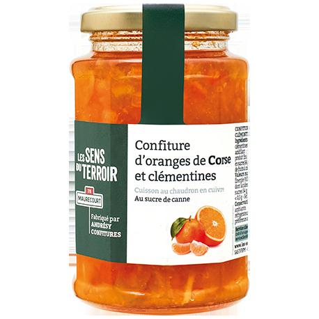Confiture d'oranges de Corse et clémentines