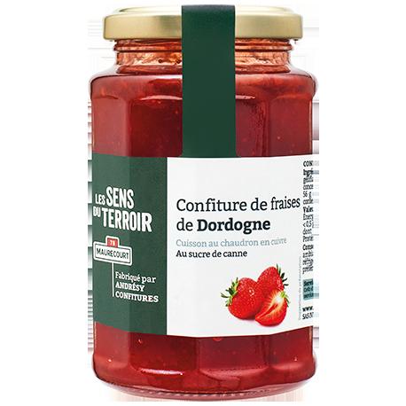 Confiture de fraises de Dordogne