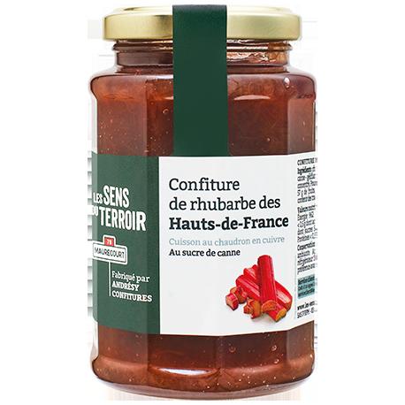 Confiture de rhubarbe des Hauts de France
