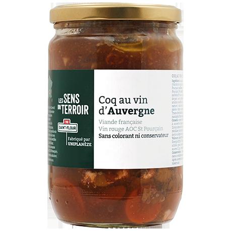 Coq au vin d'Auvergne