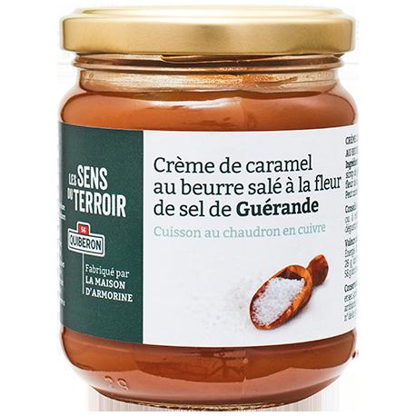 Crème de caramel au beurre salé à la fleur de sel de Guérande