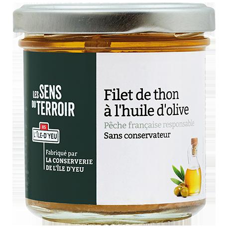 Filet de thon à l'huile d'olive