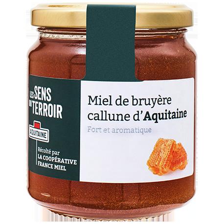 Miel de bruyère callune d'Aquitaine