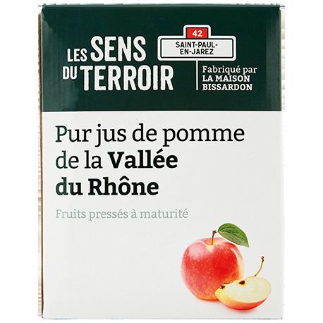 Pur jus de pomme de la Vallée du Rhône (BIB)