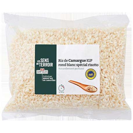 Riz de Camargue IGP rond blanc spécial risotto