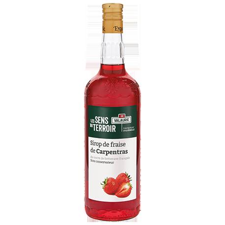 Sirop de fraise de Carpentras