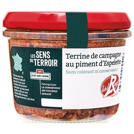 Terrine au piment d'Espelette Label Rouge
